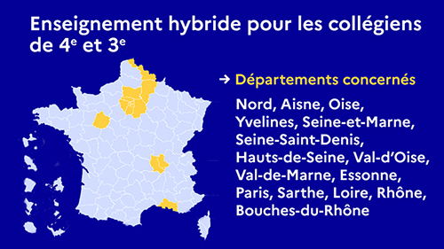 Covid19 rentree 26 avril departements