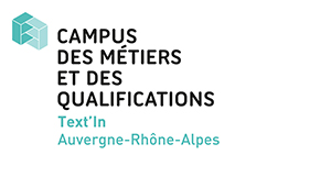 Logo du campus Text'in - Auvergne Rhone Alpes